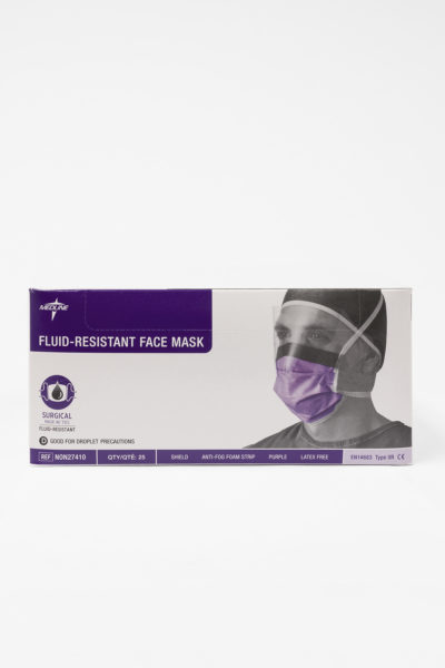 Fluid Resistant Facemask