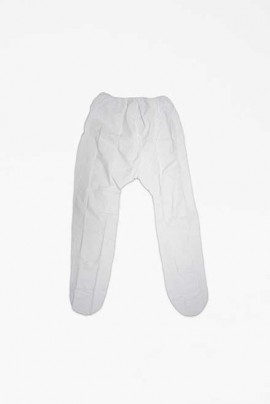 Capri Pants, Plastic-White